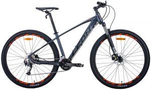 Велосипед 29″ Leon TN-70 Graphite-black-orange