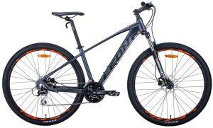 Велосипед 29″ Leon TN-80 Graphite-black-orange