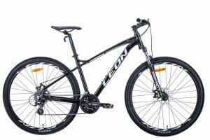 Велосипед 29″ Leon TN-90 Black-white-grey