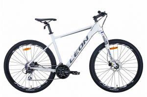 Велосипед 27.5″ Leon XC-80 White-grey-black