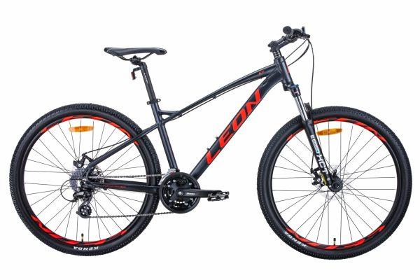 Велосипед 27.5″ Leon XC-90 Graphite-red
