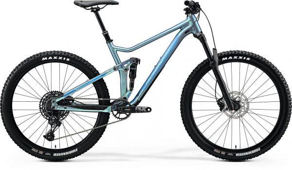 Велосипед 27.5″ Merida ONE-TWENTY 7.600 SILK SPARKLING BLUE(BLUE)