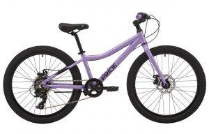 Велосипед 24″ Pride Frida 4.1 Purple-black 2020