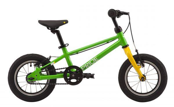 Велосипед 12″ Pride Glider Green-yellow 2020