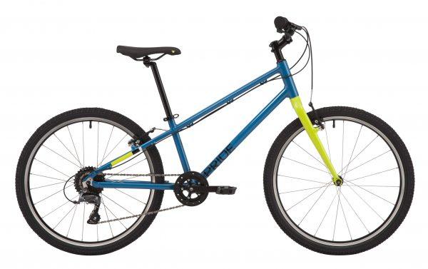 Велосипед 24″ Pride Glider 4.1 Blue-yellow 2020