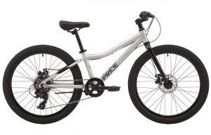 Велосипед 24″ Pride Marvel 4.1 Grey 2020