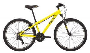 Велосипед 26″ Pride Marvel 6.1 Yellow 2020