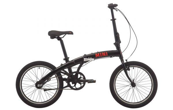 Велосипед 20″ Pride Mini 3 Black 2020