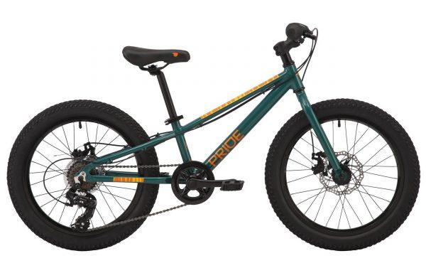 Велосипед 20″ Pride Rocco 2.1 Green-orange 2020