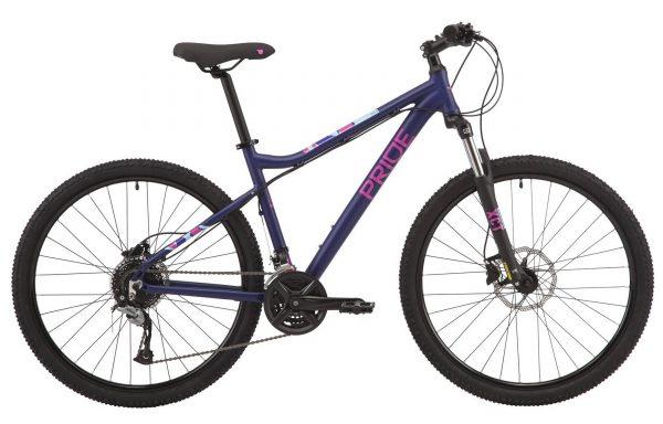 Велосипед 27,5″ Pride Stella 7.3 Violet 2020