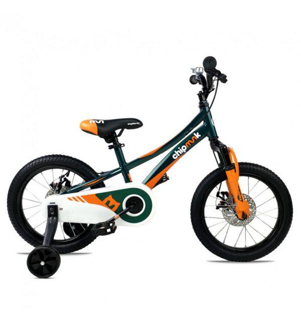 Велосипед 16″ RoyalBaby Chipmunk EXPLORER, Official UA Green