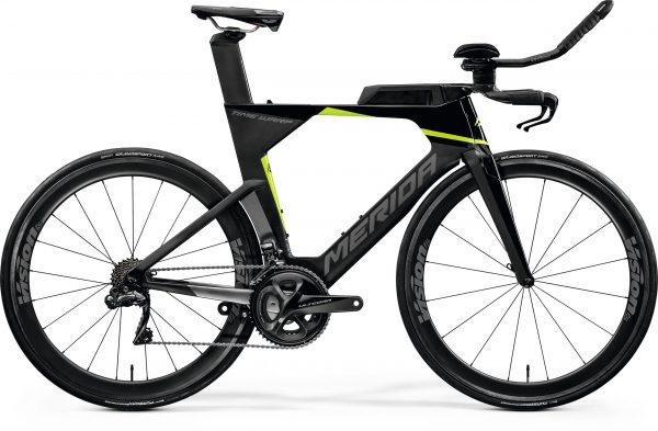 Велосипед 28″ Merida Warp TRI Limited Black/UD/Silver(green)