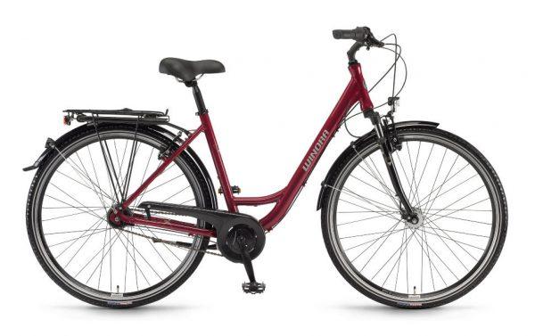 Велосипед 28″ Winora Hollywood monotube Burgundy