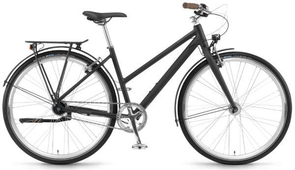 Велосипед 28″ Winora Lane women Matt-black
