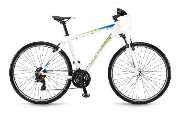 Велосипед 28″ Winora Senegal men White-blue-lime