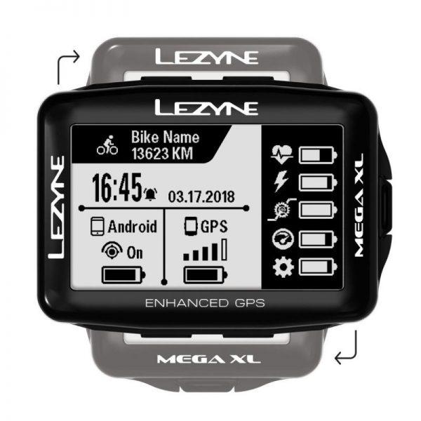 Велокомпьютер Lezyne Mega XL GPS