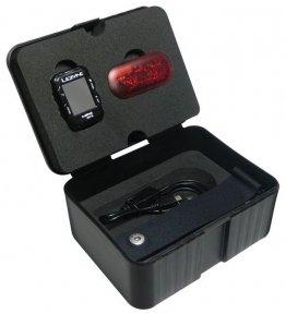 Велокомпьютер Lezyne Mini GPS + датчик пульса