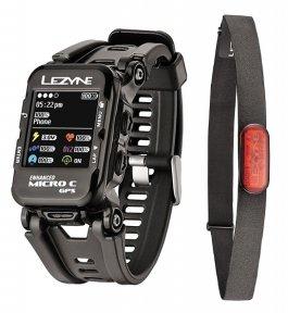 Часы-велокомпьютер Lezyne Micro Color GPS Watch с датчиком пульса