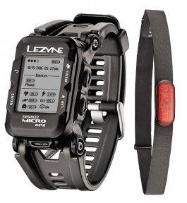 Часы-велокомпьютер Lezyne Micro GPS Watch с датчиком пульса