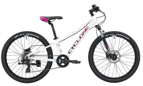 Велосипед 24″ Cyclone DREAM White