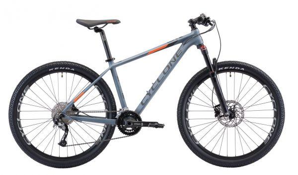 Велосипед 27.5″ Cyclone LX Grey 2020