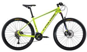 Велосипед 27.5″ Cyclone LX 650b Green 2019