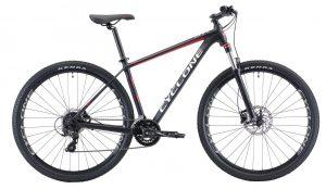 Велосипед 29″ Cyclone SX Black-red