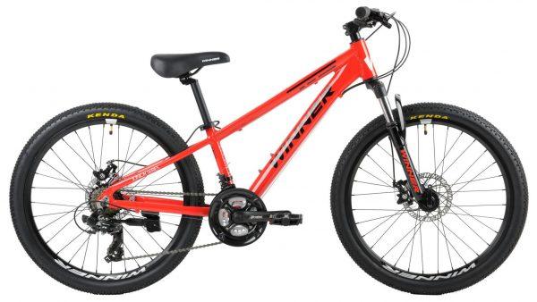 Велосипед 24″ Winner Bullet Red