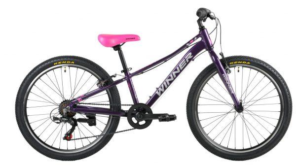 Велосипед 24″ Winner Candy Purple