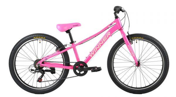Велосипед 24″ Winner Candy Pink