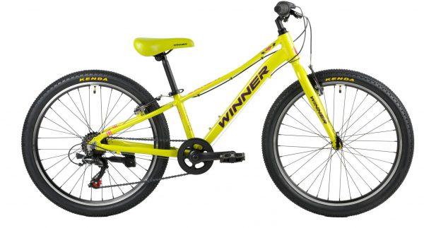 Велосипед 24″ Winner Candy Green