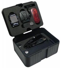 Велокомпьютер Lezyne Micro Color GPS + датчик пульса, скорости и каденса