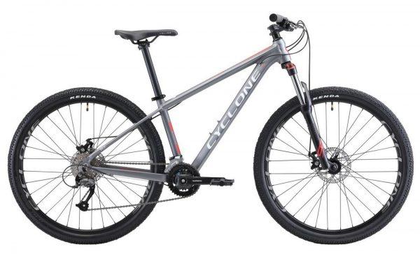 Велосипед 27.5″ Cyclone AX Grey 2021