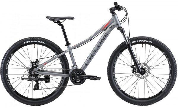 Велосипед 26″ Cyclone RX Grey 2021