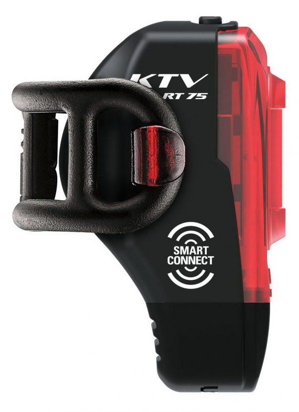 Мигалка задняя Lezyne KTV PRO Smart Rear (75 lumen) черный