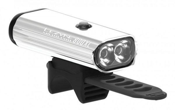 Фара Lezyne Micro Drive PRO 800XL серебристый