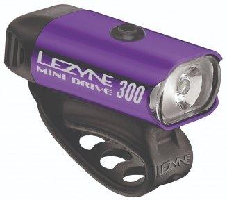 Фара Lezyne Mini Drive 300XL фиолетовый