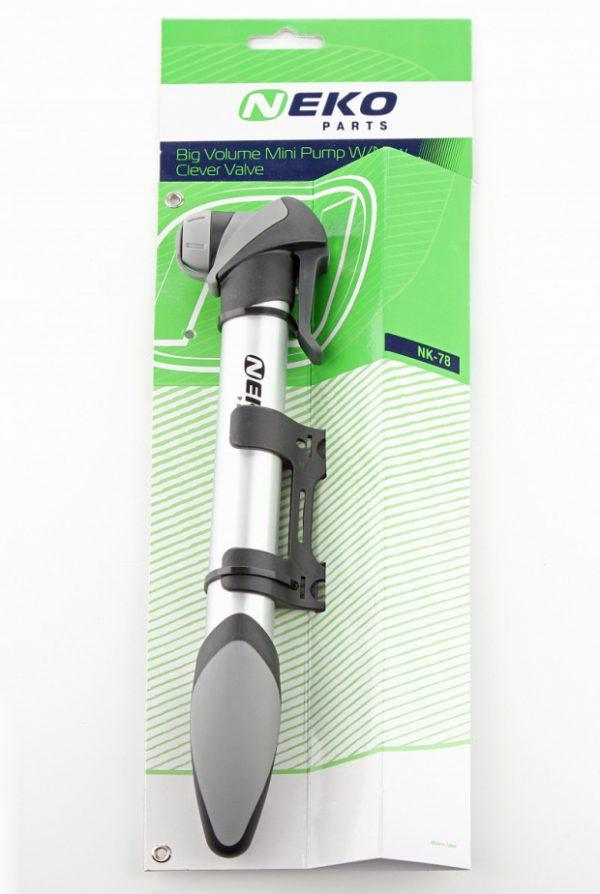Насос NEKO 78 мини алюм. clever valve T-ручка