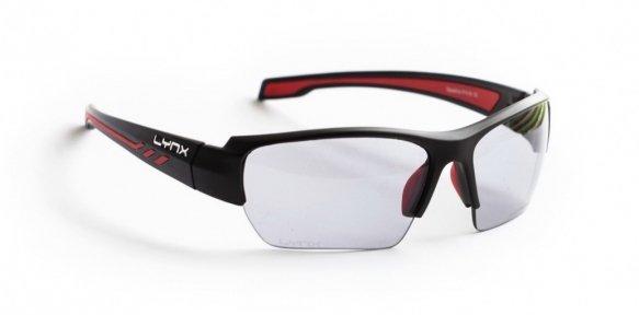 Очки LYNX Seattle PH shiny black red (фотохромная линза)