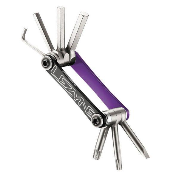 Мультитул Lezyne V — 7 фиолетовый