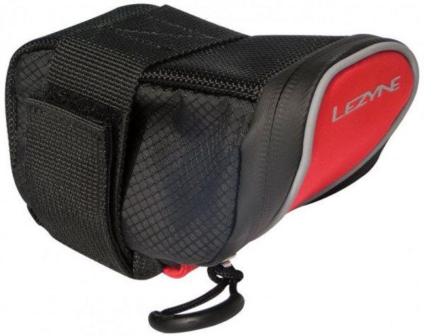 Сумка подседельная Lezyne Micro Caddy M 0.3L 145x55x80mm (90g) black-red