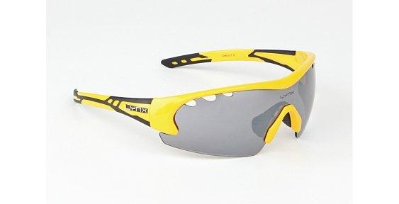 Очки LYNX Detroit shiny yellow/black