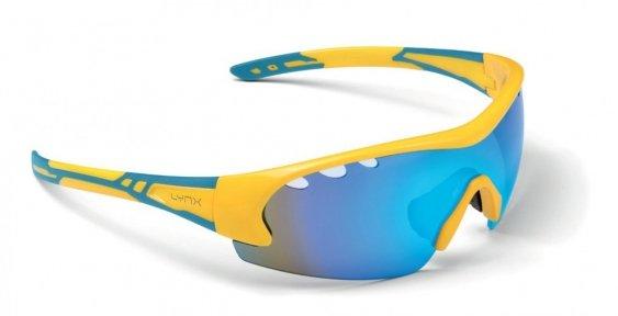 Очки LYNX Detroit shiny yellow/blue UA