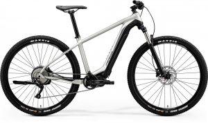 Велосипед 29″ Merida eBIG.NINE 400 (2020) matt titan/black