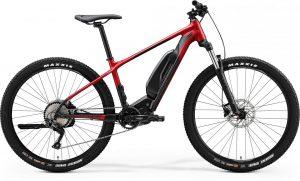 Велосипед 27.5″ Merida eBIG.SEVEN 300SE (2020) silk red/black
