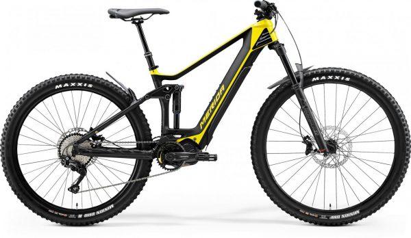 Велосипед 29″ Merida eONE-FORTY 5000 (2020) glossy bright yellow/matt black