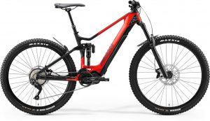 Велосипед 29″ Merida eONE-SIXTY 5000 (2020) glossy race red/matt black