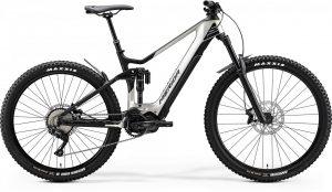 Велосипед 29″ Merida eONE-SIXTY 5000 (2020) silk titan/matt black