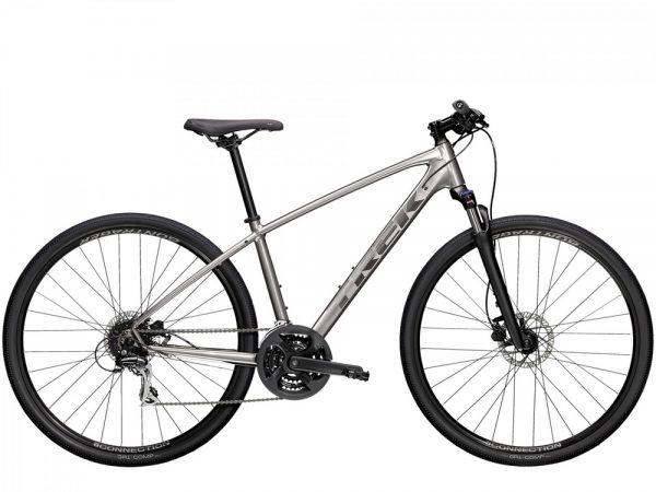 Велосипед 28″ Trek Dual Sport 2 Silver 2021