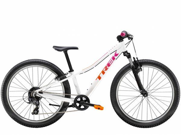 Велосипед 24″ Trek Precaliber 8S G SUS 24 WT White 2021